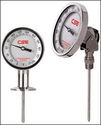 Anderson Instrument – sanitary pressure gauges, thermometers, RTD's, recorders